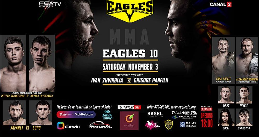 EAGLES 10, November 3rd 2018, Chisinau, Manej Arena.