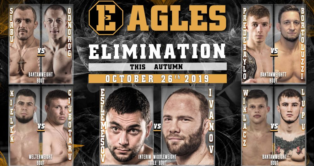 EAGLES ELIMINATION 26 Oct 2019