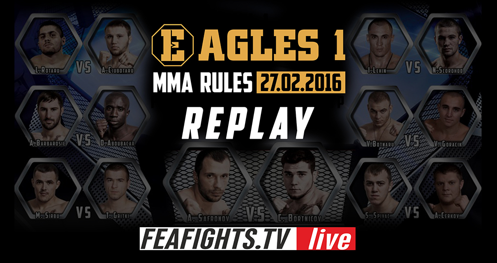 EAGLES 1 . 27.02.2016.  MMA Rules